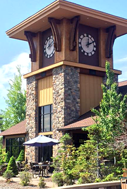 Eagle Crest Clock Tower scenic
