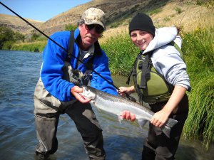 Trout Fishing on the Deschutes River
